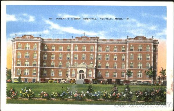 St Joseph S Mercy Hospital Pontiac Mi