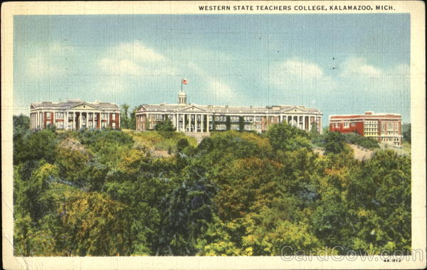 Western State Teachers College Kalamazoo Michigan