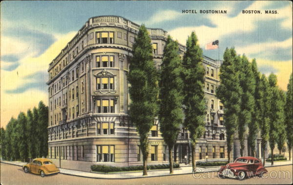 Hotel Bostonian, 1138 Boylston Street at Hemenway Massachusetts