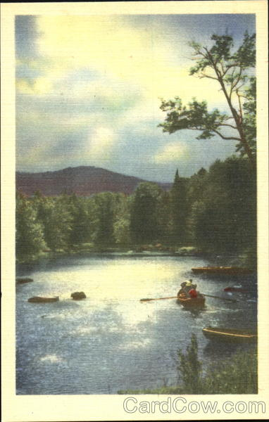 Canoeing on Lake Canoes & Rowboats
