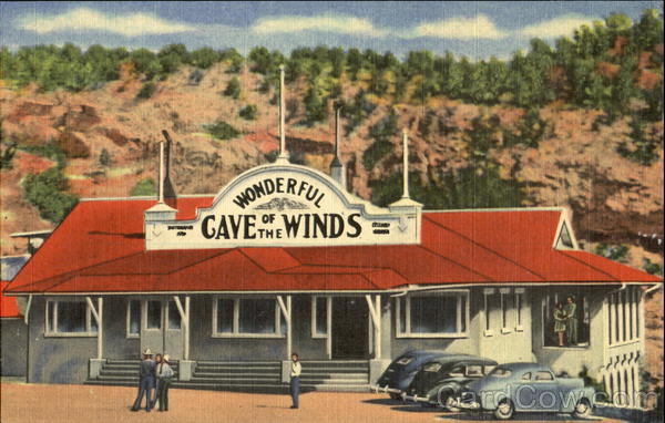Entrance To The Cave Of The Winds Manitou Springs Colorado