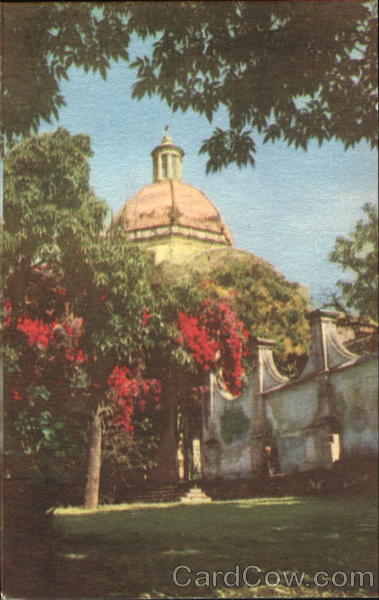 Cathedral Of Cuernavaca Mexico