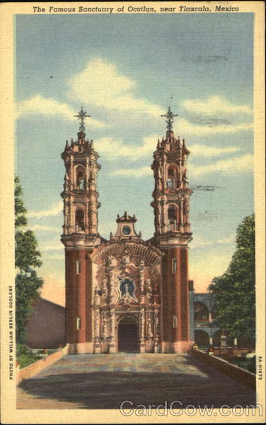 The Famous Sanctuary Of Ocotlan Tlaxcala Mexico