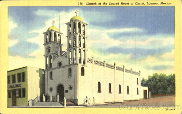 Church Of The Sacred Heart Of Christ Tijuana Mexico