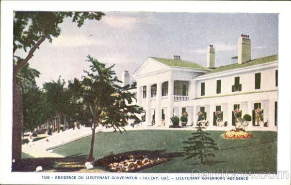 Lieutenant Governors Residence Sillery Canada Quebec