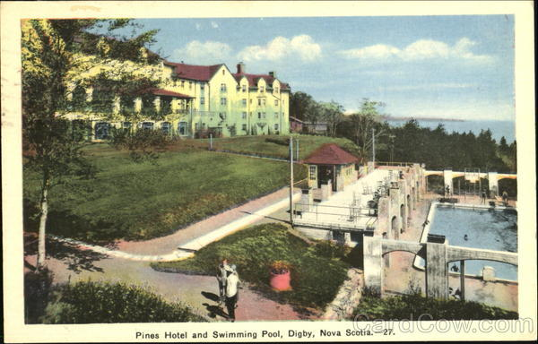 Pines Hotel And Swimming Pool Digby Canada Nova Scotia