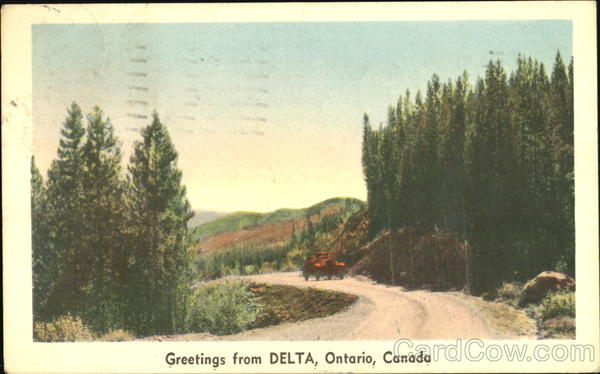 Greetings From Delta Canada Ontario
