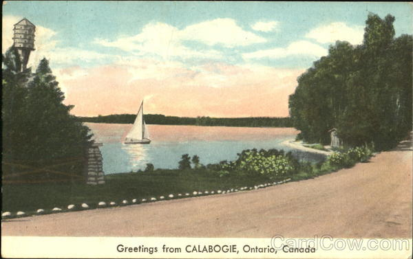 Greetings From Calabogie Canada Ontario