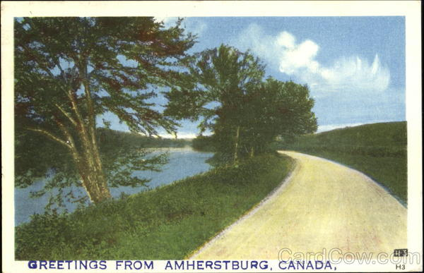 Greetings From Amherstburg Canada Misc. Canada
