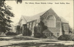 The Library, Mount Holyoke College