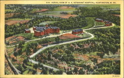 Aerial View Of U. S. Veteran's Hospital