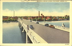Memorial Bridge Across Fox River