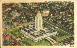 Air View Of State Capitol