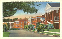 Campus Scene, Appalachian State Teachers' College