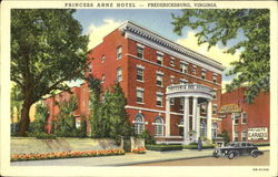 The Princess Anne Hotel, On U.S.A. No. 1 - 52 Miles South of Washington