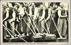 The Cleaning Crew At The Tulip Festival