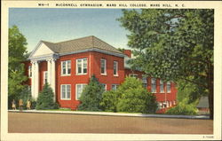 McConnell Gymnasium, Mars Hill College