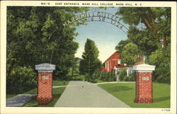 East Entrance, Mars Hill College