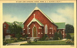 Saint Lukes Episcopal Church Postcard