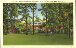 Brown Dormitory For Boys, Mars Hill College