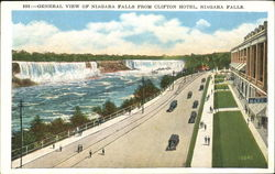 General View Of Niagara Falls From Clifton Hotel