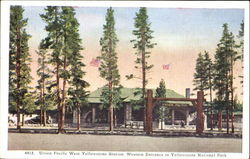 Union Pacific West Yellowstone Station