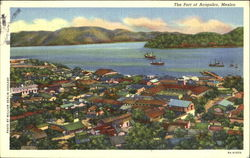 The Port Of Acapulco