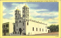 Church Of The Sacred Heart Of Christ Postcard