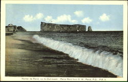 Perce Rock From S. W.
