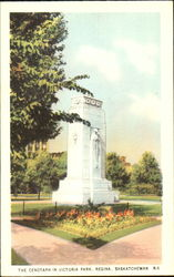 The Cenotaph In Victoria Park