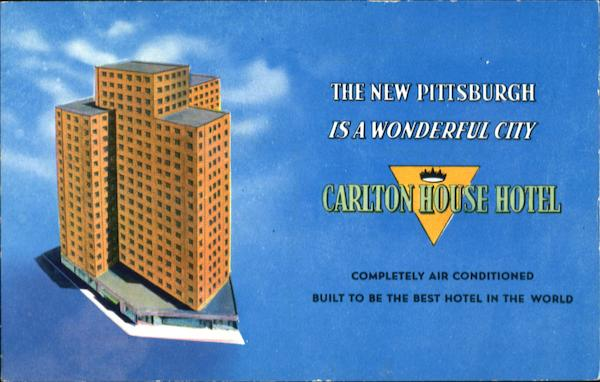 Carlton House Hotel, Pittsburgh 19 Pennsylvania