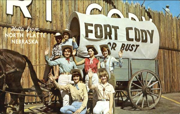 A Big Hello From The Fort Cody Gang North Platte Nebraska