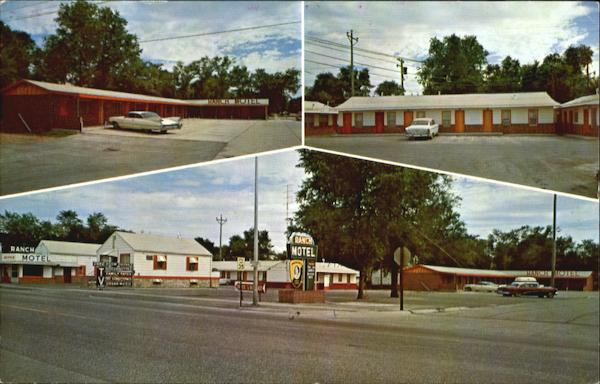 Ranch Motel, 508-520 Rodeo Road North Platte Nebraska