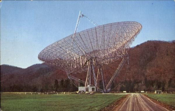 300-Foot Transit Radio Telescope, The National Radio Astronomy Observatory Green Bank West Virginia