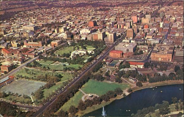 Aerial View Of Adelaide Scenic Australia