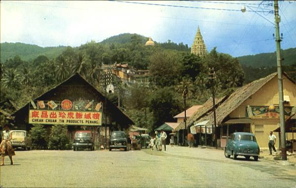 Ayer Itam Village Penang Malaysia Southeast Asia