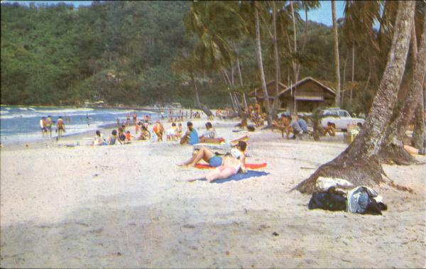 Maracas Bay Trinidad Caribbean Islands