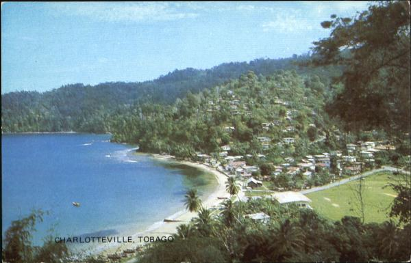 Charlotteville Tobago Caribbean Islands
