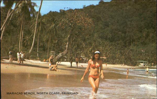 Maracas Beach, North Coast Trinidad Caribbean Islands