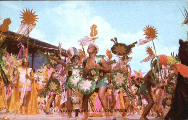 Trinidad Carnival On Stage Caribbean Islands