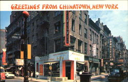Greetings From Chinatown Postcard