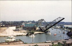 Historic Bascule Lift Bridge