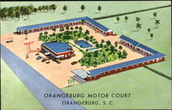 Orangeburg Motor Court, U. S. Highway 301 and 601 2 Miles South