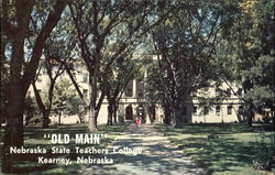 Old Main, Nebraska State Teachers College