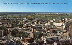 Looking Northwest From Nebraska State Capitol Tower