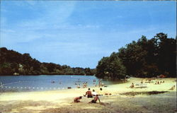 Bathing Beach Of Cacapon State Park, Morgan County