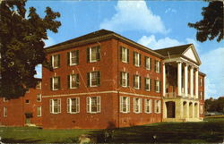 McCaskey Hall, Wesleyan College Postcard