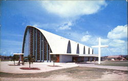 Greetings From Puerto Rico, New Cathedral at the University Postcard