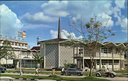 The City Council Building, Sibu Postcard