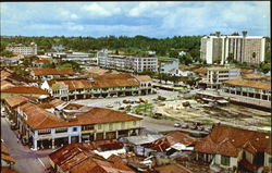 A Panoramic View Of Johore Bahru Town